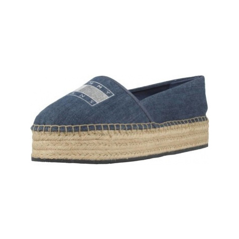 Tommy Jeans EN0EN00571 women's Espadrilles / Casual Shoes in Blue Tommy Hilfiger