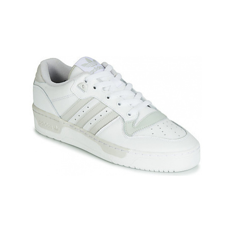 Adidas RIVALRY LOW women's Shoes (Trainers) in White
