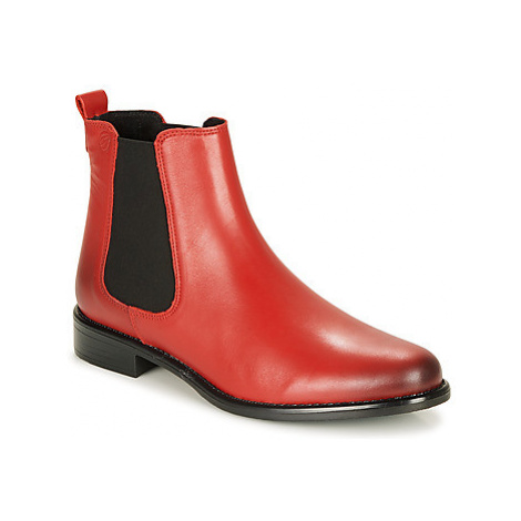 Betty London NORA women's Mid Boots in Red