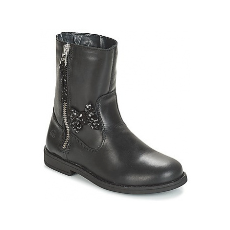 Citrouille et Compagnie JARINDA girls's Children's Mid Boots in Black