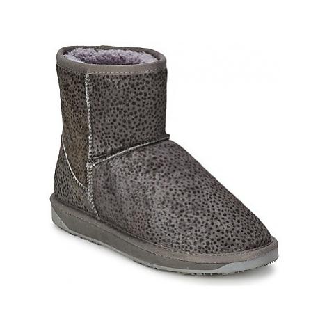 Booroo MINNIE LEO women's Mid Boots in Grey