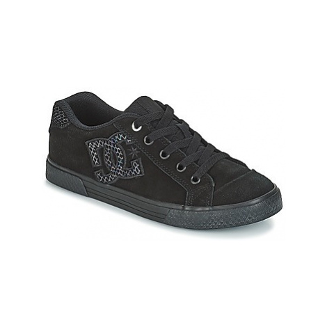 DC Shoes CHELSEA SE J SHOE 0SB women's Shoes (Trainers) in Black