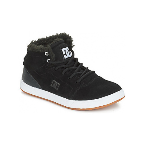 DC Shoes CRISIS HIGH WNT B SHOE BW6 girls's Children's Shoes (High-top Trainers) in Black