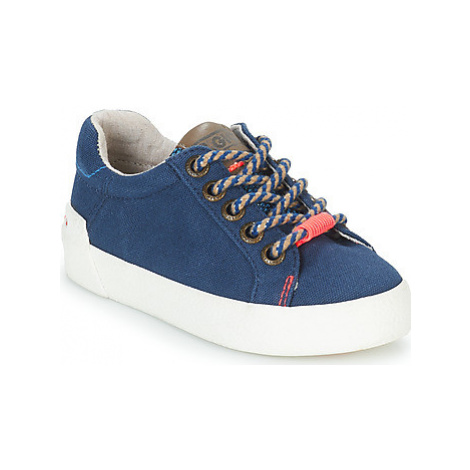 Gioseppo RAVENA boys's Children's Shoes (Trainers) in Blue