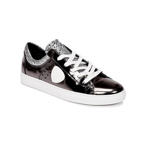 Philippe Morvan FARLEY2 V4 SPECCHIO INOX women's Shoes (Trainers) in Black