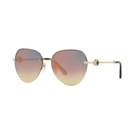 BVLGARI BV6108 Women's Oval Sunglasses