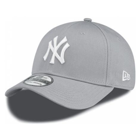 New Era 39thirty MLB League Basic NY Yankees Grey White