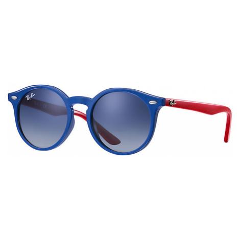 Ray-Ban Rj9064s Unisex Sunglasses Lenses: Blue, Frame: Blue - RJ9064S 70204L 44-19