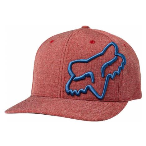 Fox CLOUDED FLEXFIT red - Men's baseball cap
