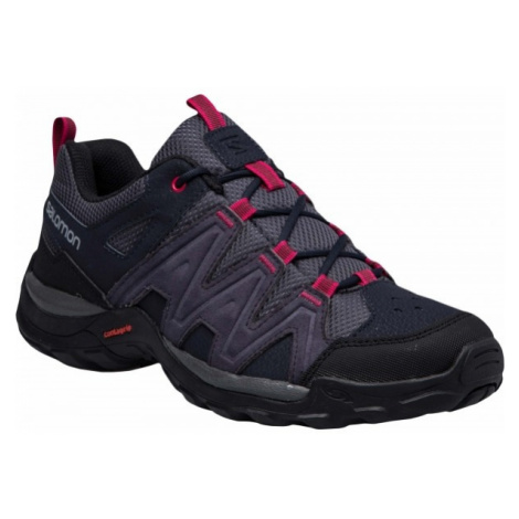 Salomon MILLSTREAM W violet - Women's hiking shoes