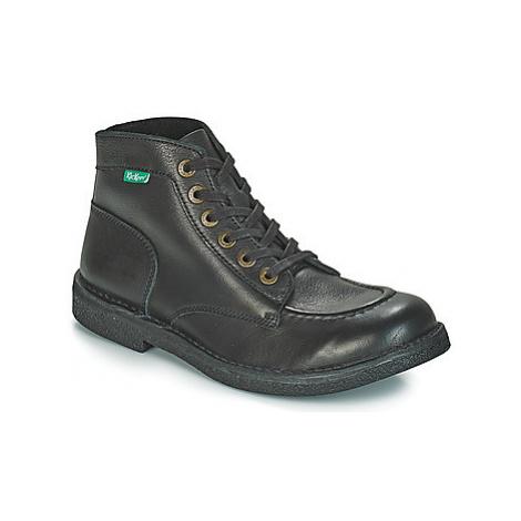 Kickers KICKSTONER men's Mid Boots in Black