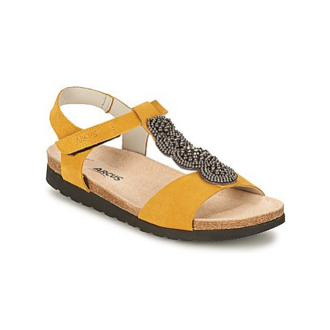 Arcus OPERON women's Sandals in Yellow