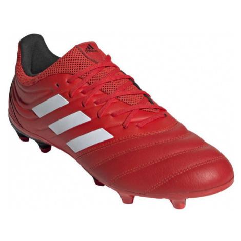Red soccer equipment