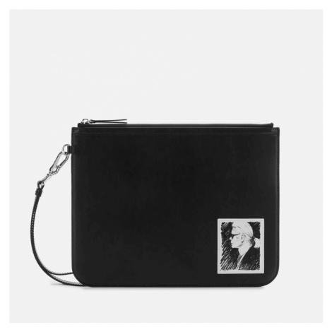 Karl Lagerfeld Legend Collection Women's Karl Legend Luxury Clutch Bag - Black