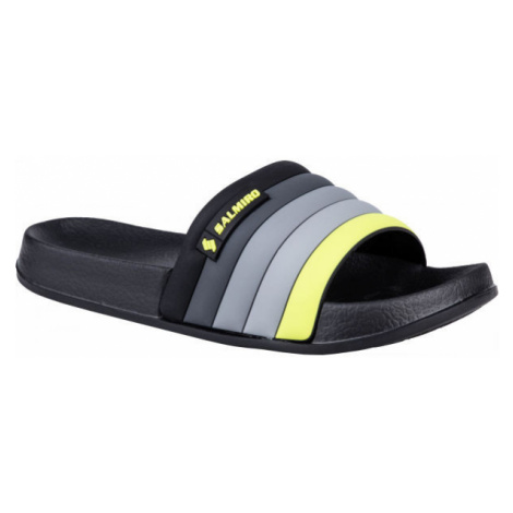 Salmiro ZIPTOP black - Children's slippers