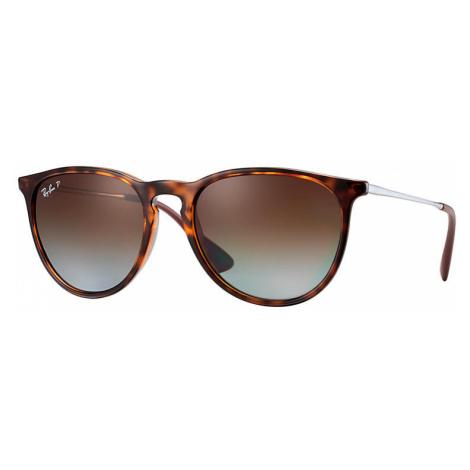 Ray-Ban Erika classic Unisex Sunglasses Lenses: Brown Polarized, Frame: Gunmetal - RB4171 710/T5
