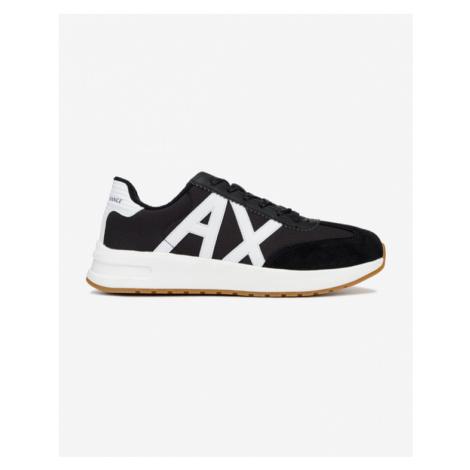 Armani Exchange Sneakers Black White