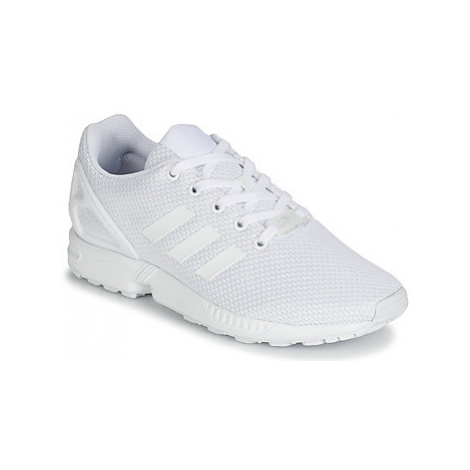Adidas ZX FLUX J boys's Children's Shoes (Trainers) in White