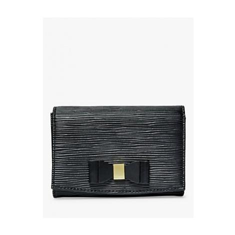 Ted Baker Spriggs Leather Mini Foldover Purse, Black