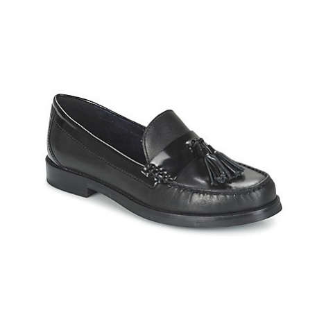 Geox PROMETHEA C women's Loafers / Casual Shoes in Black