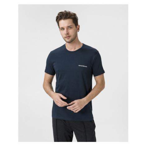 Emporio Armani Undershirt 2 Piece Black Blue