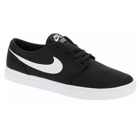 shoes Nike SB Portmore II Ultralight GS - Black/White