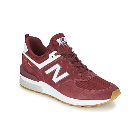 New Balance MS574 men's Shoes (Trainers) in Purple