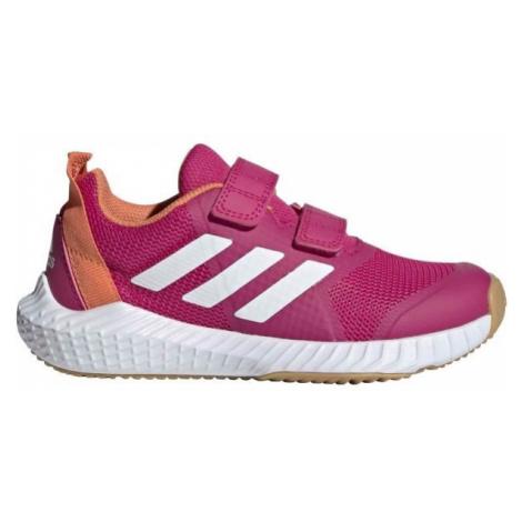 adidas FORTAGYM CF K pink - Kids' indoor shoes