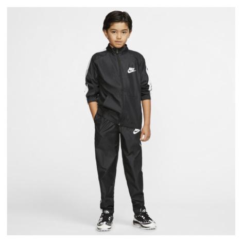 Nike Sportswear Older Kids' Woven Tracksuit - Black