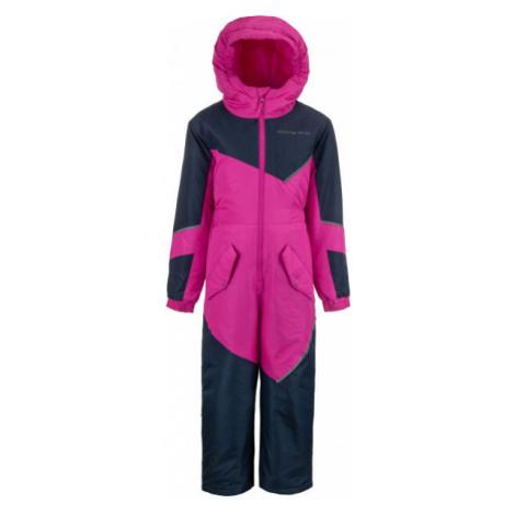 ALPINE PRO RISLO pink - Children's overall