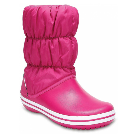 shoes Crocs Winter Puff Boot - Candy Pink - girl´s