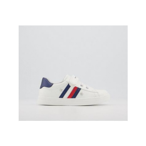 Tommy Hilfiger Tommy Sneaker 7-11 WHITE BLUE RED METALLIC STAR