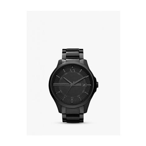 Armani Exchange AX2104 Men's Date Bracelet Strap Watch, Gunmetal