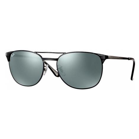 Ray-Ban Signet Man Sunglasses Lenses: Gray, Frame: Black - RB3429M 002/40 58-19