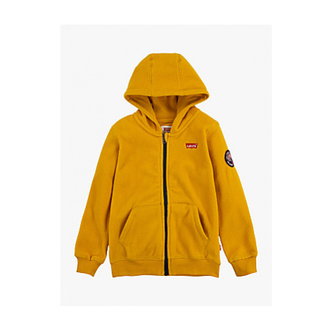 Levi's Boys' Zip-Up Fleece, Yellow Levi´s