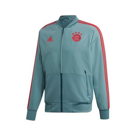 FC Bayern Training Presentation Jacket - Green Adidas