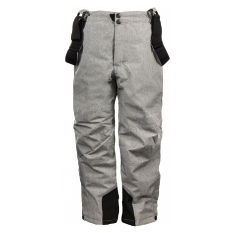 ALPINE PRO GUSTO gray - Kids ski pants
