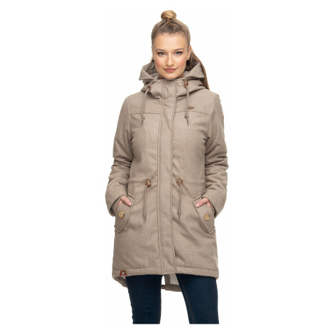 jacket Ragwear Elba Coat A - 6000/Beige - women´s