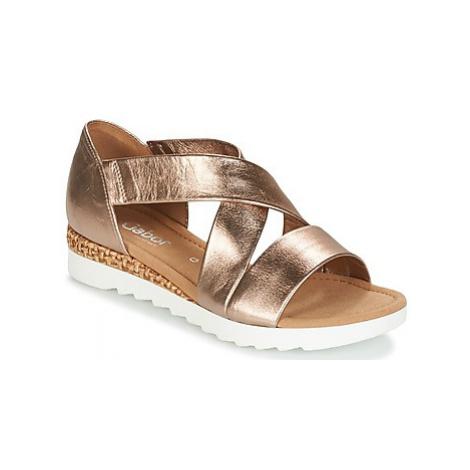 Gabor WOLETTE women's Sandals in Gold