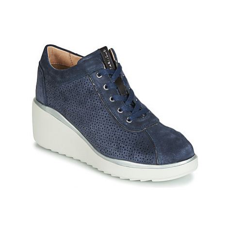 Stonefly ECLIPSE 18 VELOUR women's Shoes (Trainers) in Blue