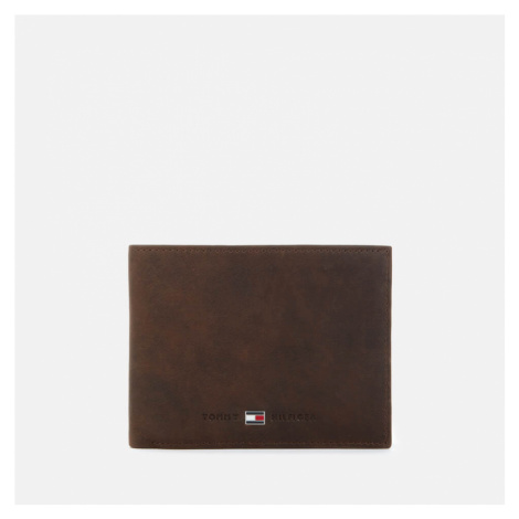 Tommy Hilfiger Men's Johnson Mini Credit Card and Coin Pocket Wallet - Brown