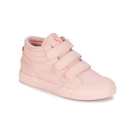 DC Shoes EVAN HI V SE J SHOE ROW women's Shoes (High-top Trainers) in Pink