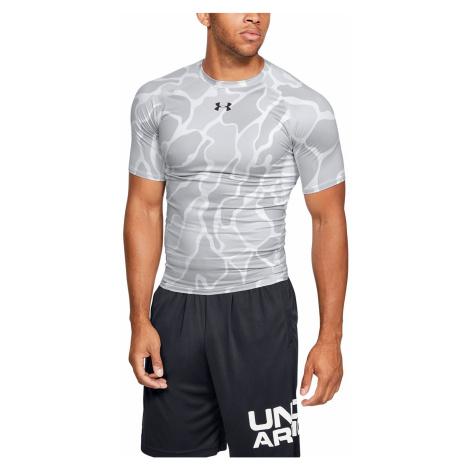 T-Shirt Under Armour HeatGear Armour - 101/White - men´s