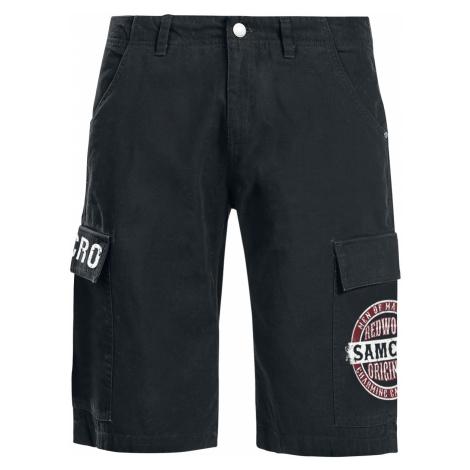 Sons Of Anarchy - Redwood Original - Cargo shorts - black