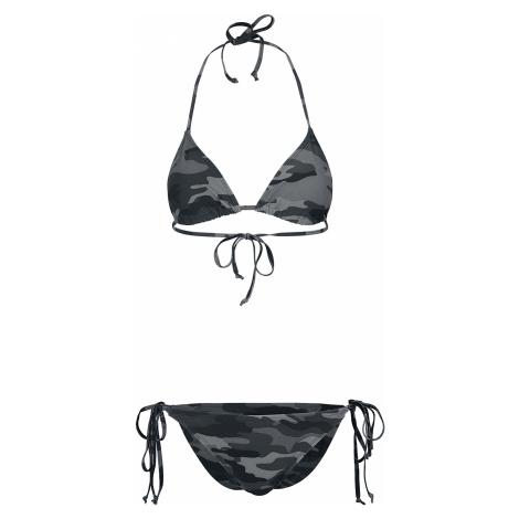 Urban Classics - Ladies Camo Bikini - Bikini - dark camo