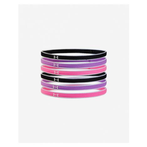 Under Armour Mini Kids headdress 6 pieces Black Pink Violet