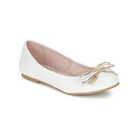 Garvalin NAPA girls's Children's Shoes (Pumps / Ballerinas) in White Garvalín