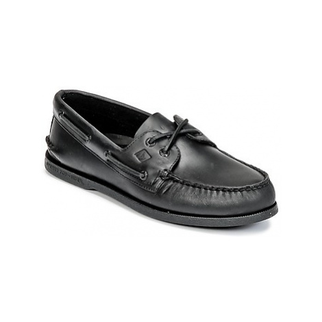 Sperry Top-Sider A/O 2-EYE men's Boat Shoes in Black