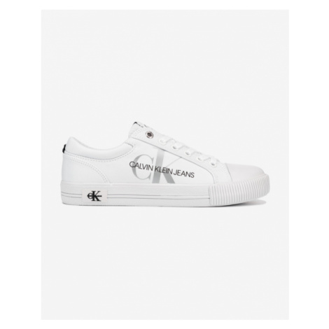 Calvin Klein Lace Up Sneakers White