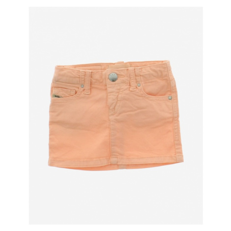 Diesel Girl Skirt Orange